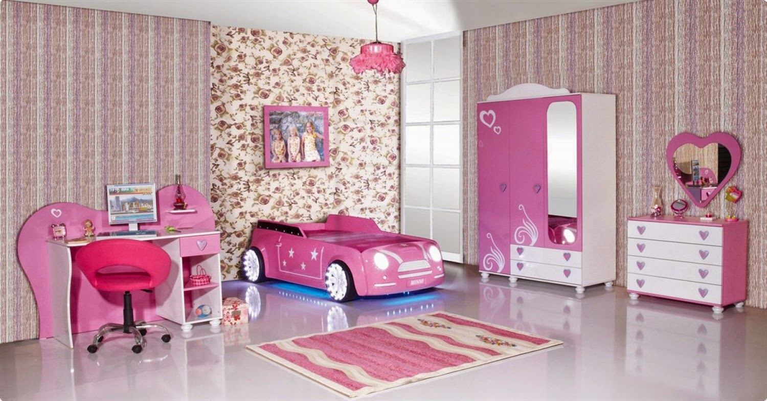 Ideas originales para decorar un cuarto de niñas 1